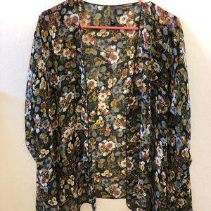 Full Tilt floral kimono